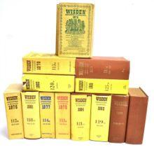 [CRICKET] Wisden Cricketer's Almanacks, 1947, 1963, 1974-79 inclusive, 1981-84 inclusive, & 1988,