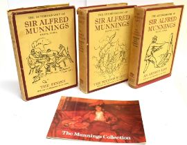 [MISCELLANEOUS] Sir Alfred Munnings, The Autobiography of Sir Alfred Munnings in three volumes, An