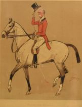 AFTER SNAFFLES (CHARLIE JOHNSON PAYNE) (BRITISH 1884-1967) 'Blood and quality', colour print, 36.5 x