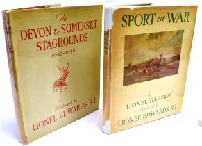[HUNTING] Edward T. Macdermot, the Devon and Somerset Staghounds 1907-1936, 1936. Publ. William