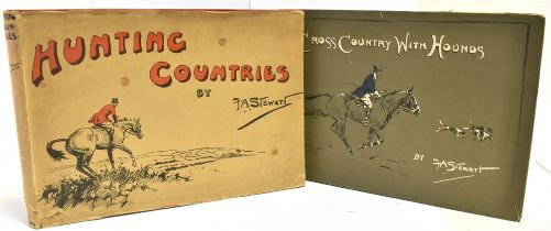 [HUNTING] F.A STEWART Hunting Countries, publ. Collins 1935 and similar, Cross Country with
