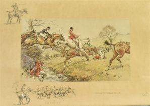 AFTER SNAFFLES (CHARLIE JOHNSON PAYNE) (BRITISH 1884-1967) 'Prepare to received cavalry - are you