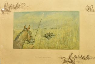 AFTER SNAFFLES (CHARLIE JOHNSON PAYNE) (BRISTISH 1884-1967) 'The finest view in Asia', colour