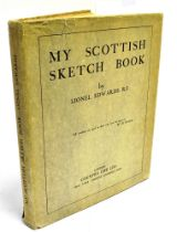 [HUNTING] LIONEL EDWARDS My Scottish Sketcbook, 1929 ill. Lionel Edwards, publ. Country Life, dust