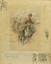 AFTER SNAFFLES (CHARLIE JOHNSON PAYNE) (BRISTISH 1884-1967) 'A Heilan' Lad', colour print with
