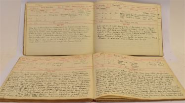 [HUNTING] Hunting Journals, two volumes overfull with extensive amd detailed hand written entries