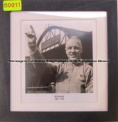 BILL SHANKLY 1959-1974 b & w photograph from the Managers' Gallery at Liverpool Football Club's