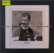 GRAEME SOUNESS 1991-1994 b & w photograph from the Managers' Gallery at Liverpool Football Club's