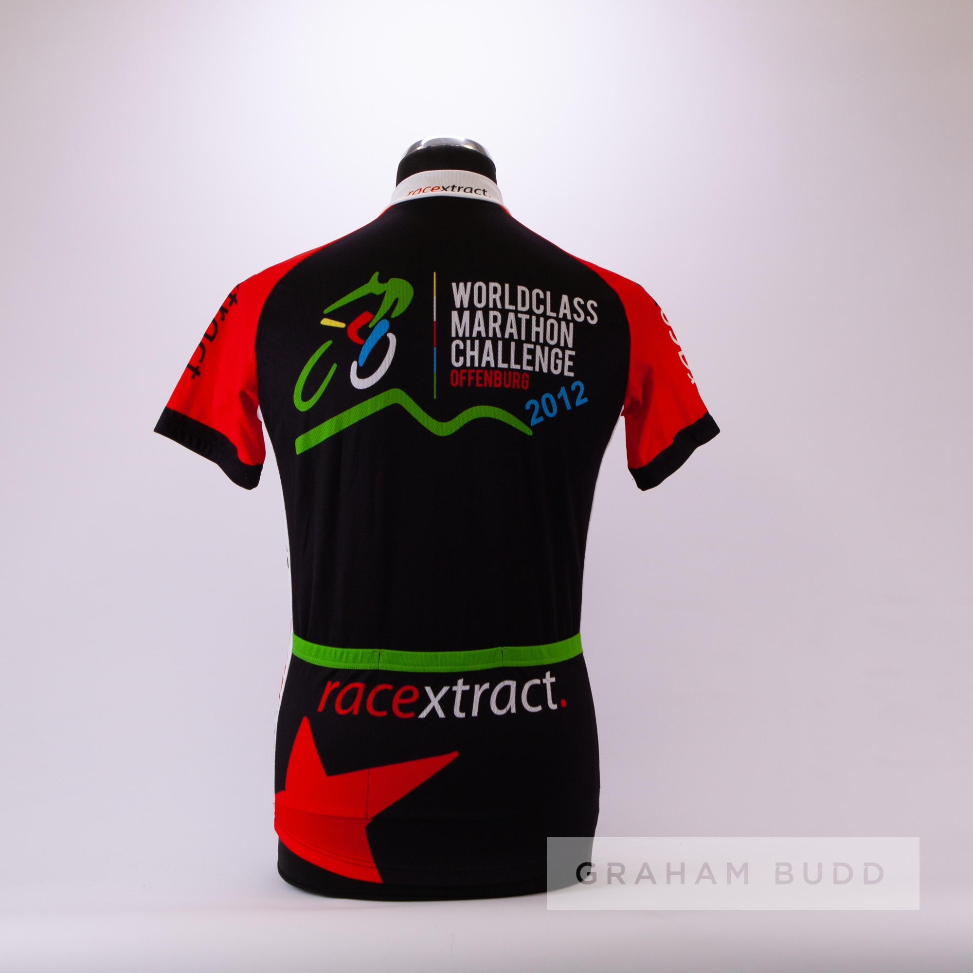 2012 black, red, white and green World Class Marathon Challenge Offenburg Race Xtract Cycling race - Image 4 of 4