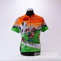 2010 orange, green, grey and black Italian Biemme Marathon Des Dolomites Tour Giro Cycling race