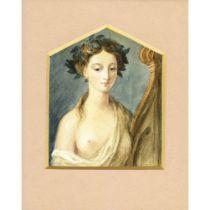 Barker of Bath Late Eighteenth Century British Greek Muse.