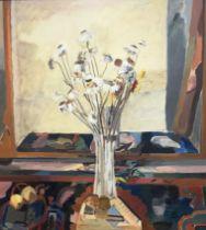 Levene, Ben 1938-2010 British AR Vase of Flowers.