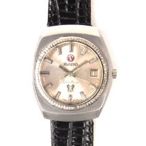 Rado Silver Horse stainless steel automatic watch.