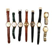 Collection of eight watches.