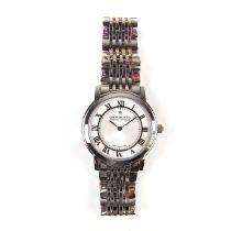 Dreyfuss & Co stainless steel quartz watch.