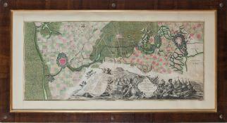 """Mappa """"Berguen op den Zoom"""", XVIII secolo."""
