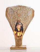 "Henri Fernandez, Scultura Luminosa ""Nefertiti I"", Anni '70."