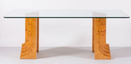 Produzione Italiana, Grande tavolo da pranzo, Anni '70.