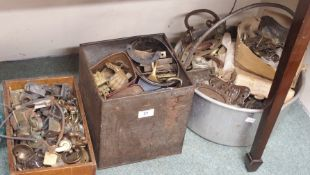 A large selection of handles, castors etc Condition Report: Available upon request