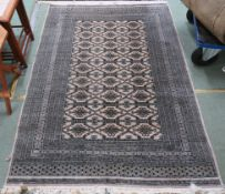 A light ground Eastern style rug, 187cm x 130cm Condition Report: Available upon request