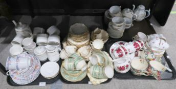 Assorted tea wares including Trilby Ware, Finesse, Royal Vale etc Condition Report: Not available