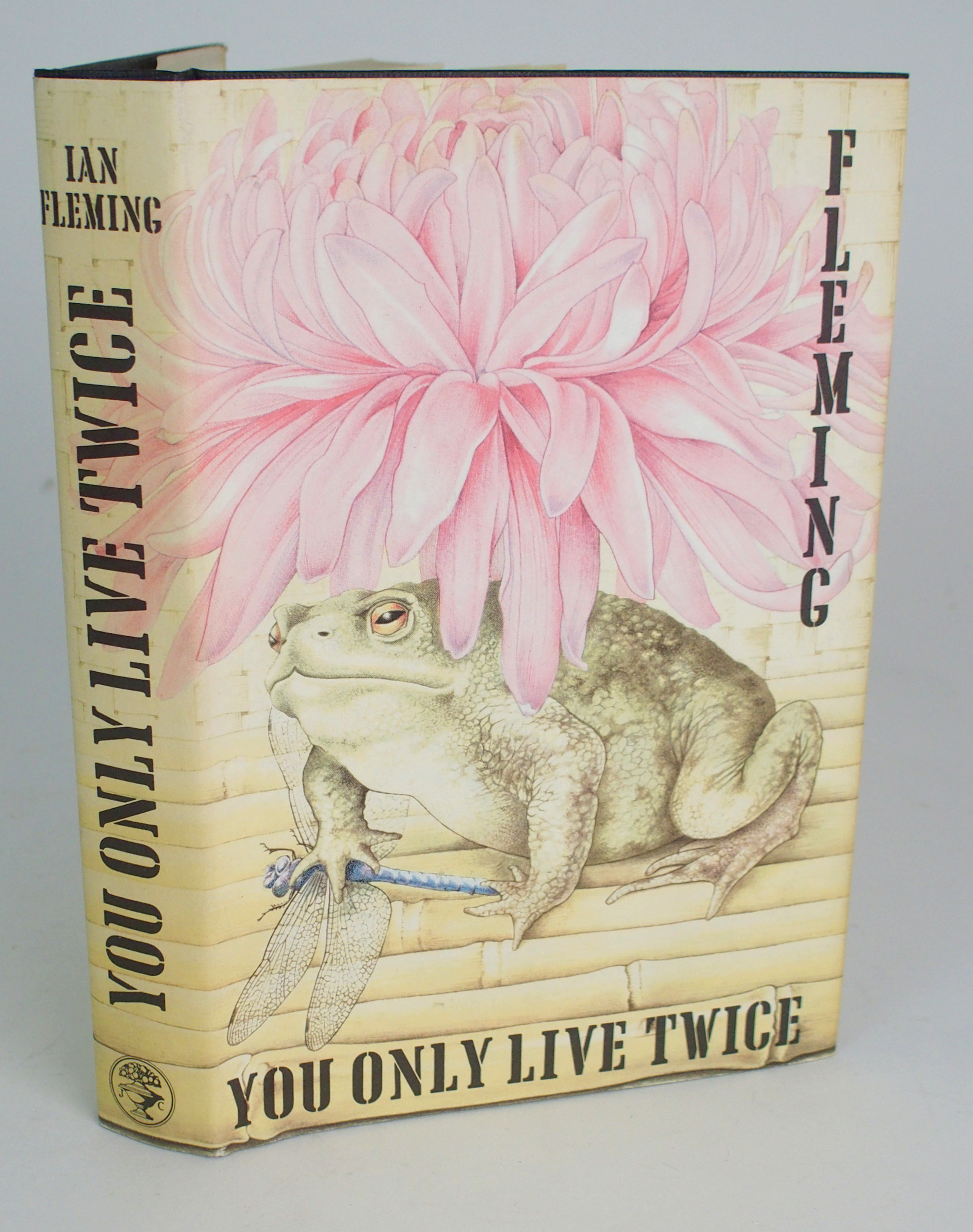 IAN FLEMING 'YOU ONLY LIVE TWICE' 1st edition 1964, unclipped with original dust jacket, published