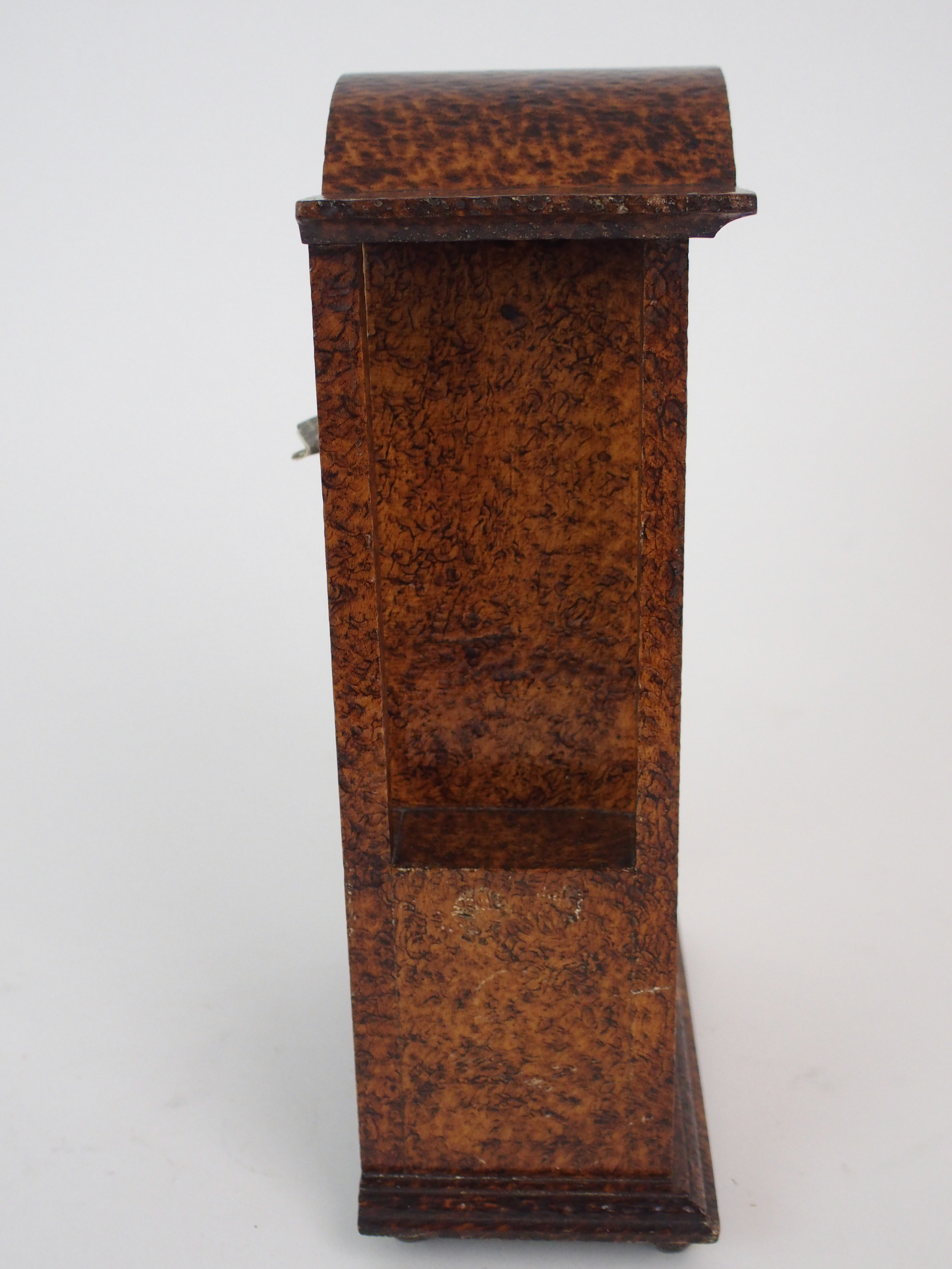 THE FOLLOWING THREE LOTS WERE DESIGNED BY BOXWORKS EMPLOYEE JOHN COOK. A MAUCHLINE WARE CLOCK CASE - Image 5 of 6