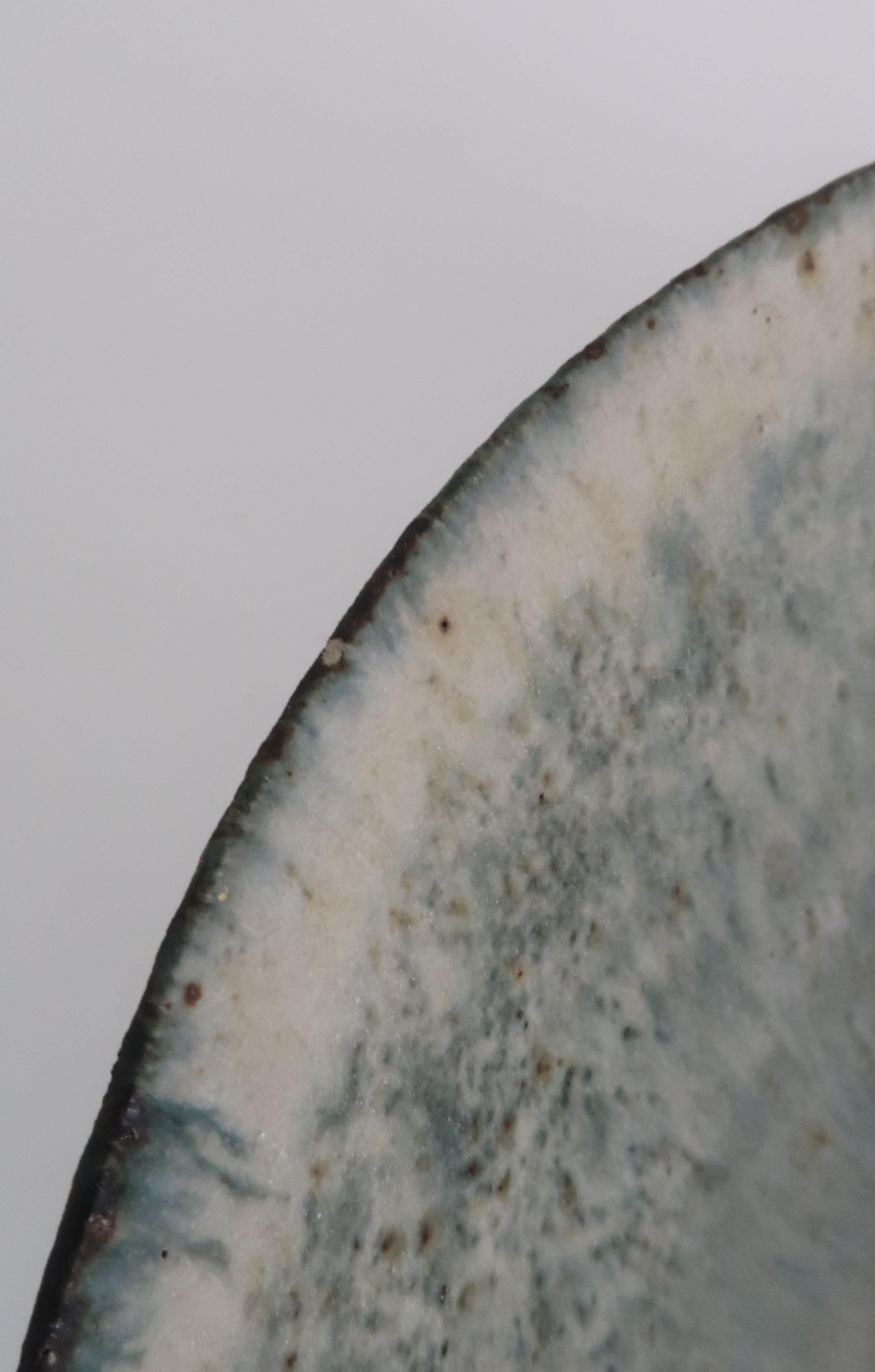 •BETTY BLANDINO (1927-2011) A stoneware bowl with slipware glaze, impressed mark to base, 32cm - Image 7 of 7