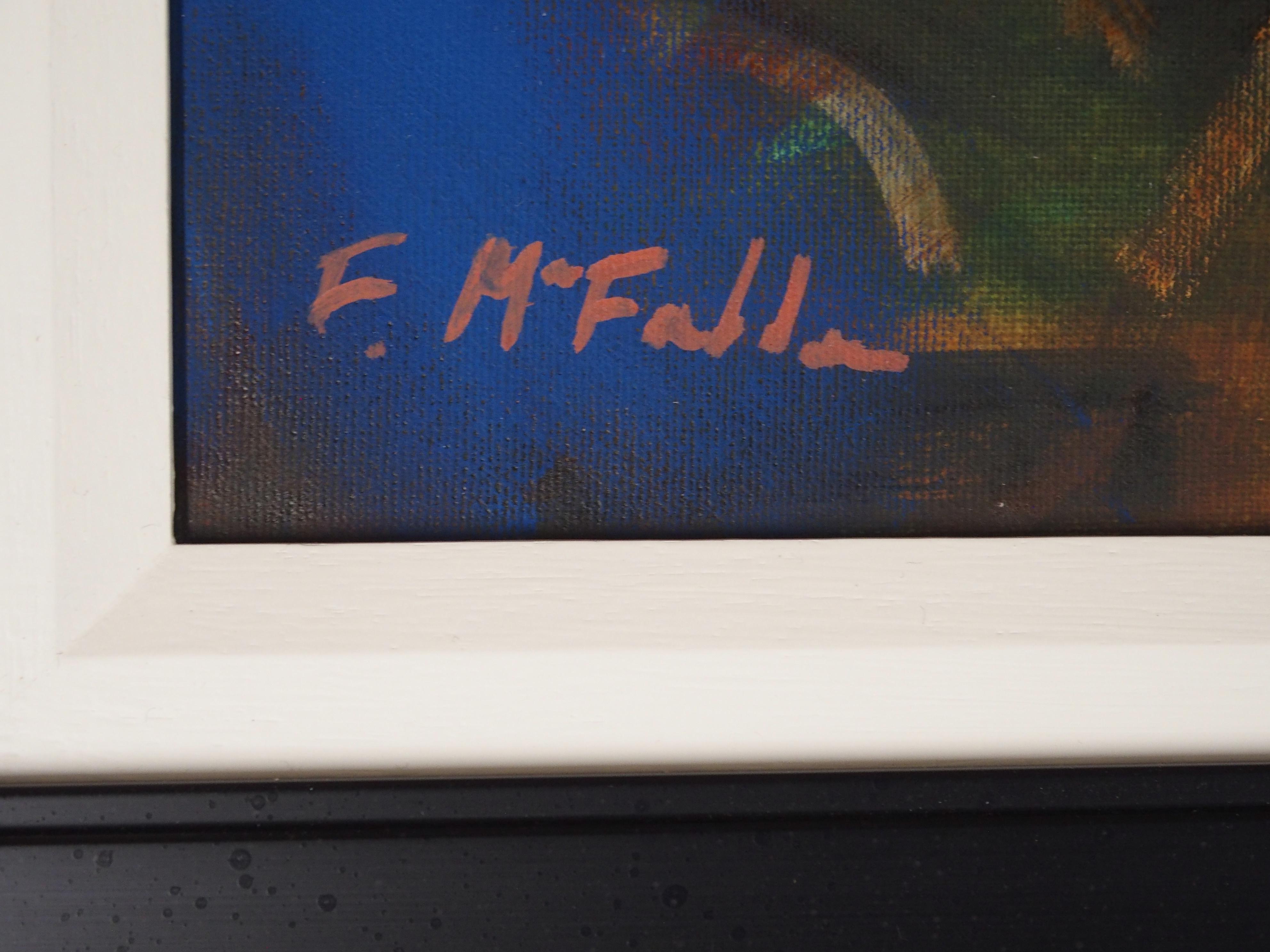 "•FRANK MCFADDEN (SCOTTISH B. 1972) VORTEX Oil on canvas, signed, 40 x 50cm (15 3/4 x 19 3/4"") - Image 3 of 7"