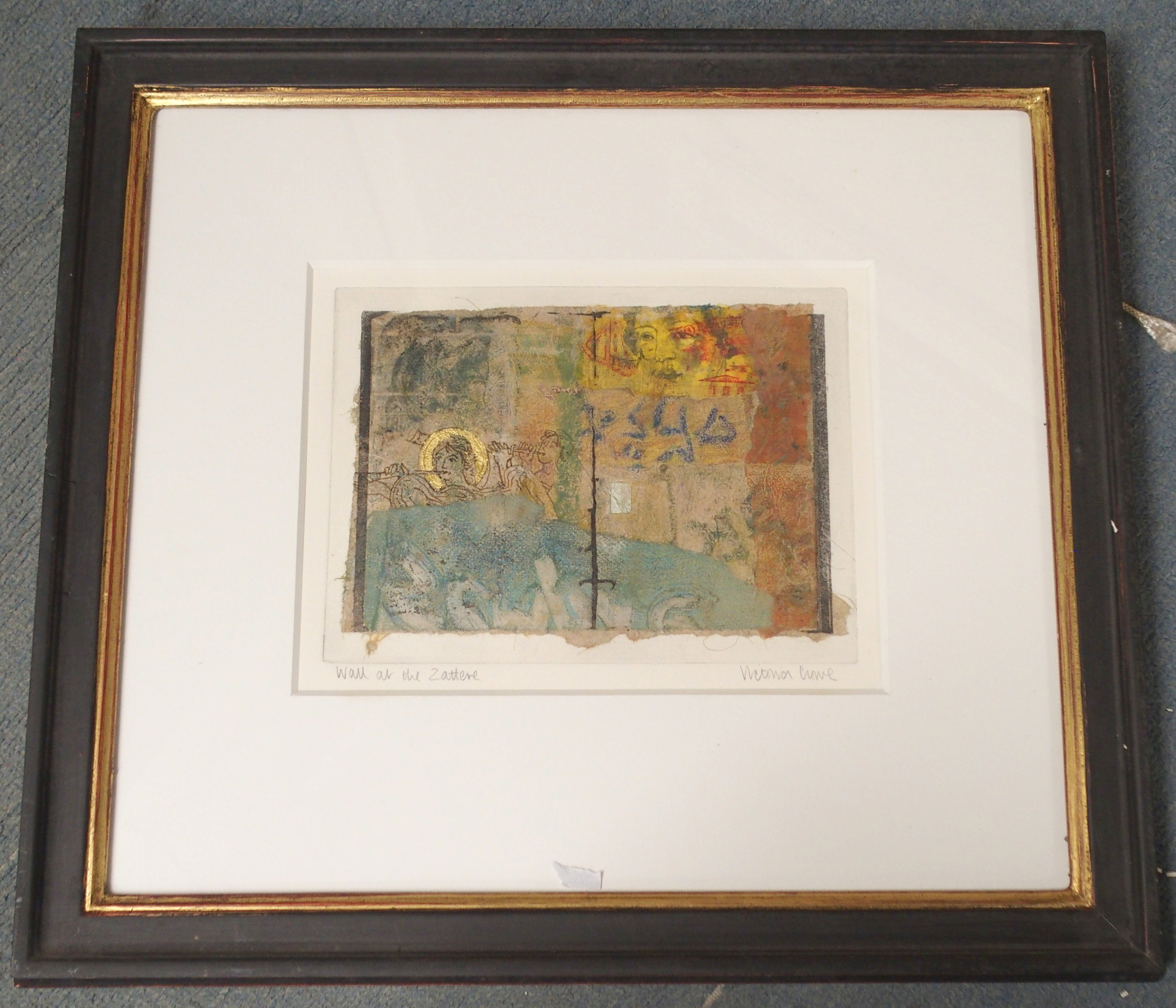 •VICTORIA CROWE OBE, RSA, RSW, FRSE (SCOTTISH B. 1945) WALL AT THE ZATTERE Mixed media on handmade - Image 2 of 7