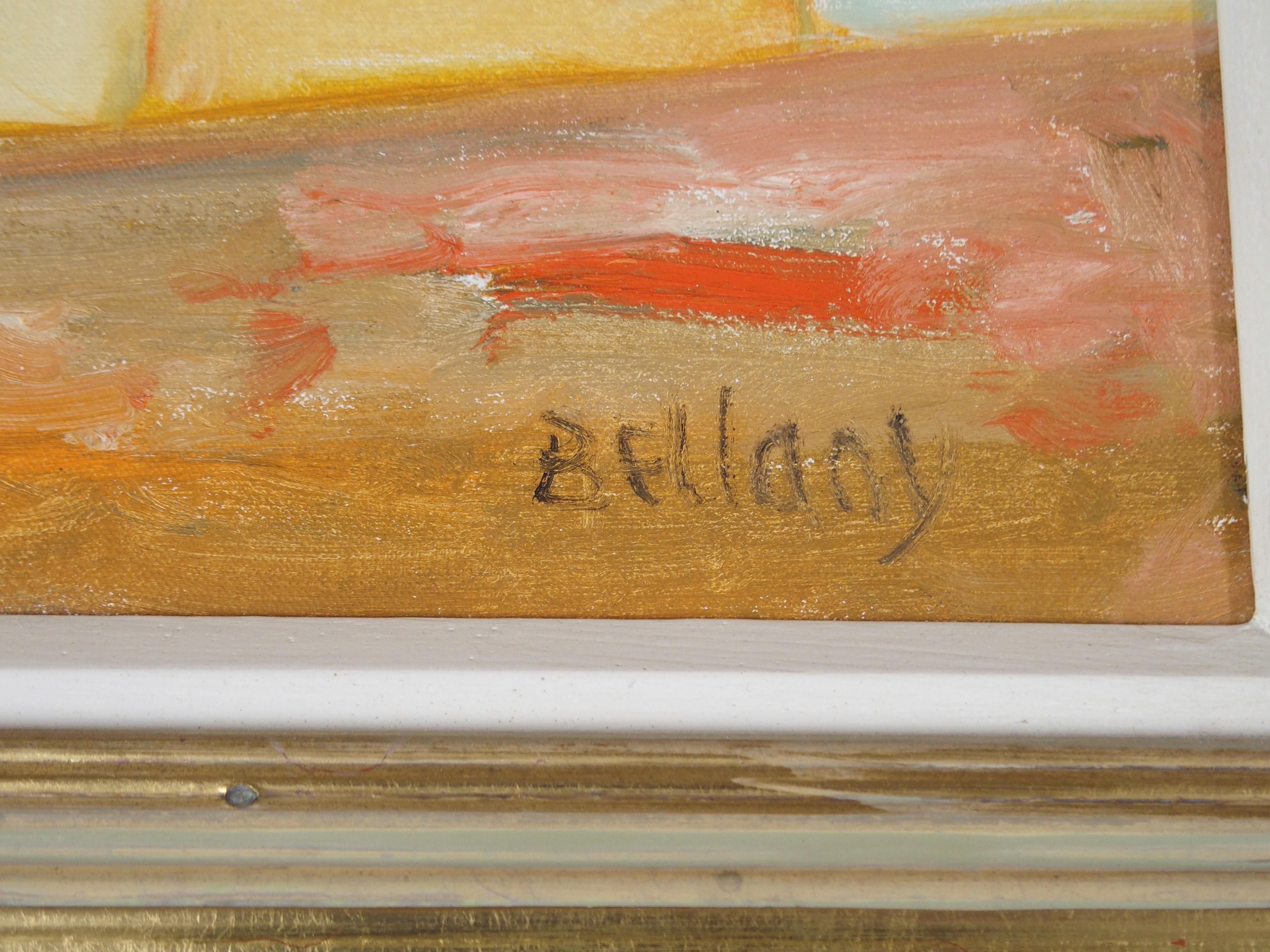 •JOHN BELLANY CBE, RA, HRSA, LLD (LON) (SCOTTISH 1942-2013) A SCOTTISH BEAUTY Oil on canvas, signed, - Image 3 of 6