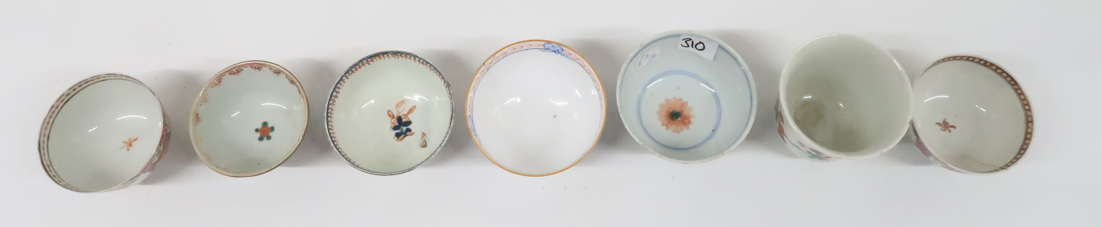 A COLLECTION OF CHINESE EXPORT TEAWARES and others including famille rose, Chien Lung, blue and - Image 6 of 22