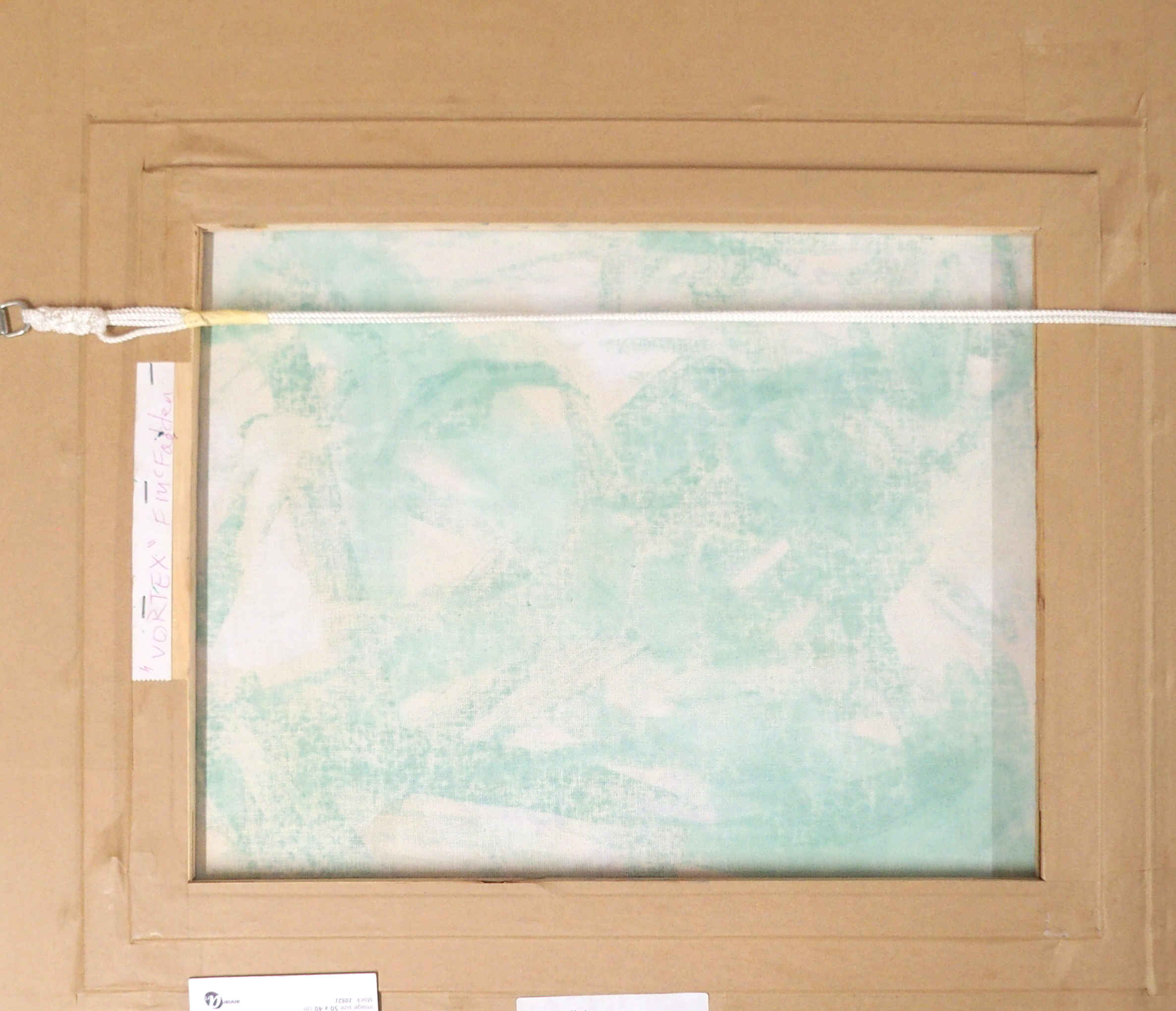 "•FRANK MCFADDEN (SCOTTISH B. 1972) VORTEX Oil on canvas, signed, 40 x 50cm (15 3/4 x 19 3/4"") - Image 6 of 7"