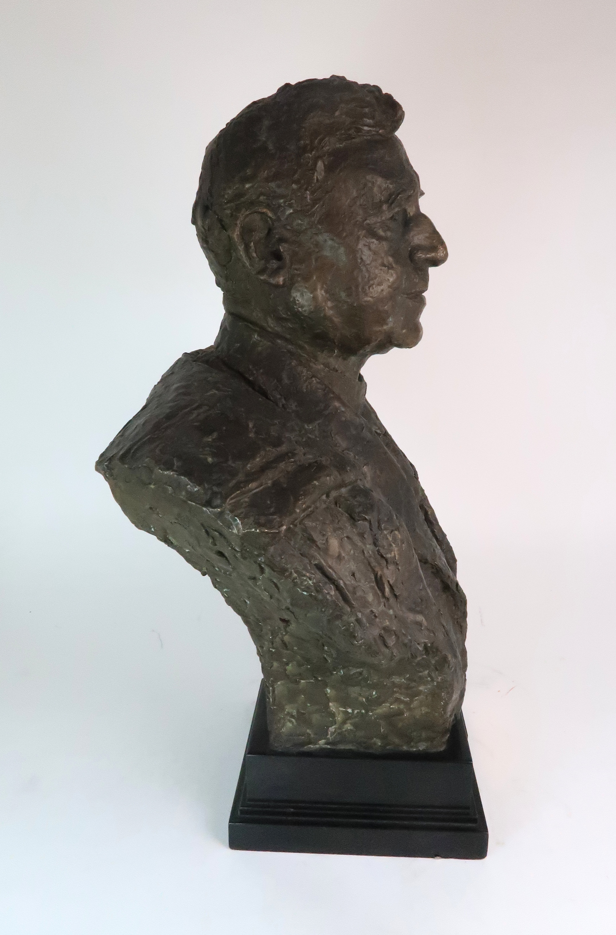 •BENNO SCHOTZ RSA (SCOTTISH 1891-1984) SIR JOHN STEWART LLD (LORD PROVOST OF GLASGOW 1935-1938) - Image 4 of 4