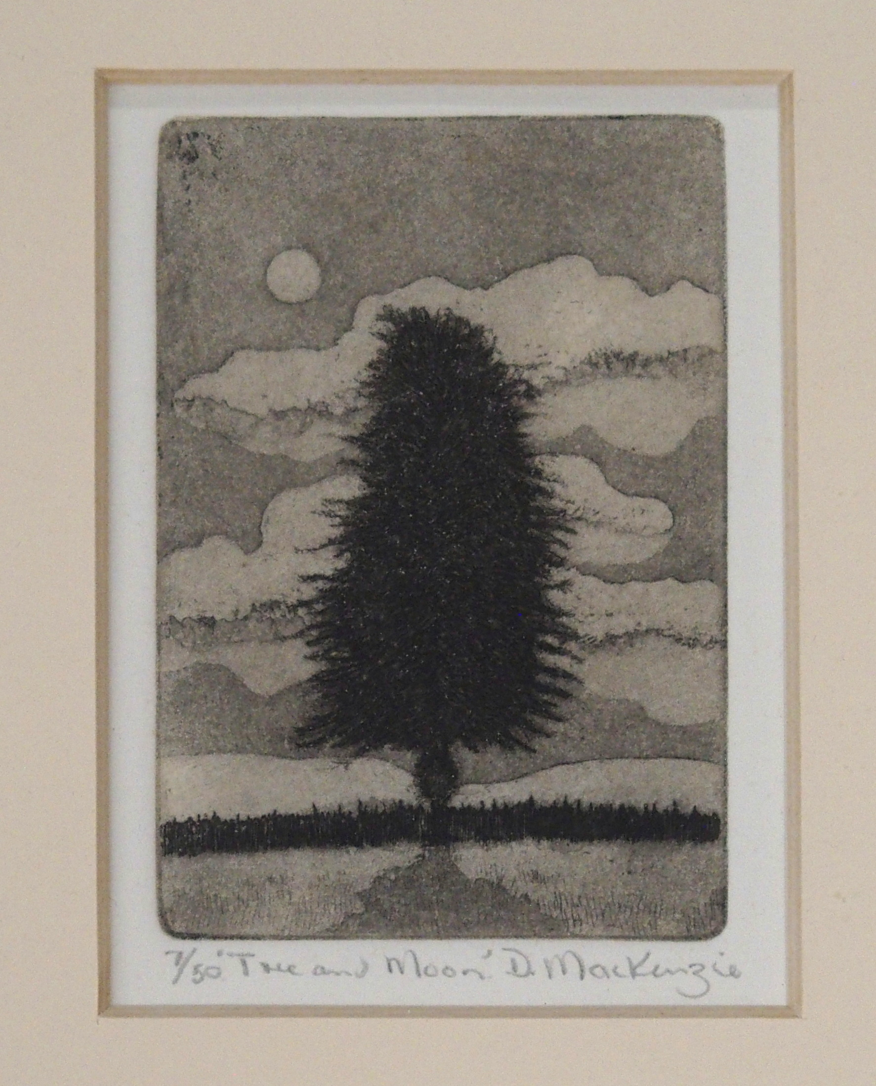 •DUNCAN MACKENZIE (SCOTTISH CONTEMPORARY) DANCING SCARECROWS etching, signed, inscribed and - Image 2 of 7