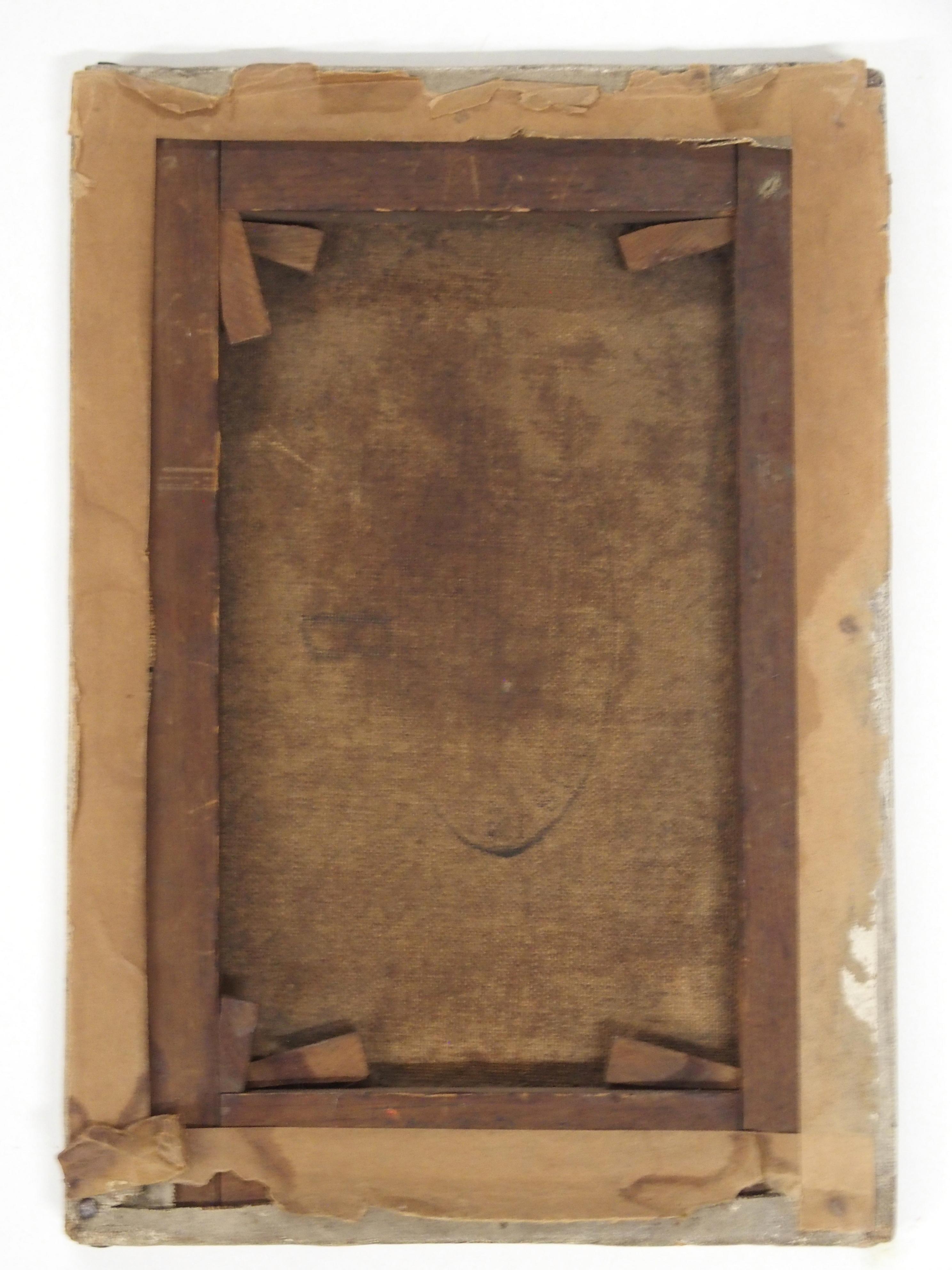 •DONALD BAIN (SCOTTISH 1904-1979) CHILD PORTRAIT oil on canvas, signed, 26 x 18cm Condition - Image 3 of 3