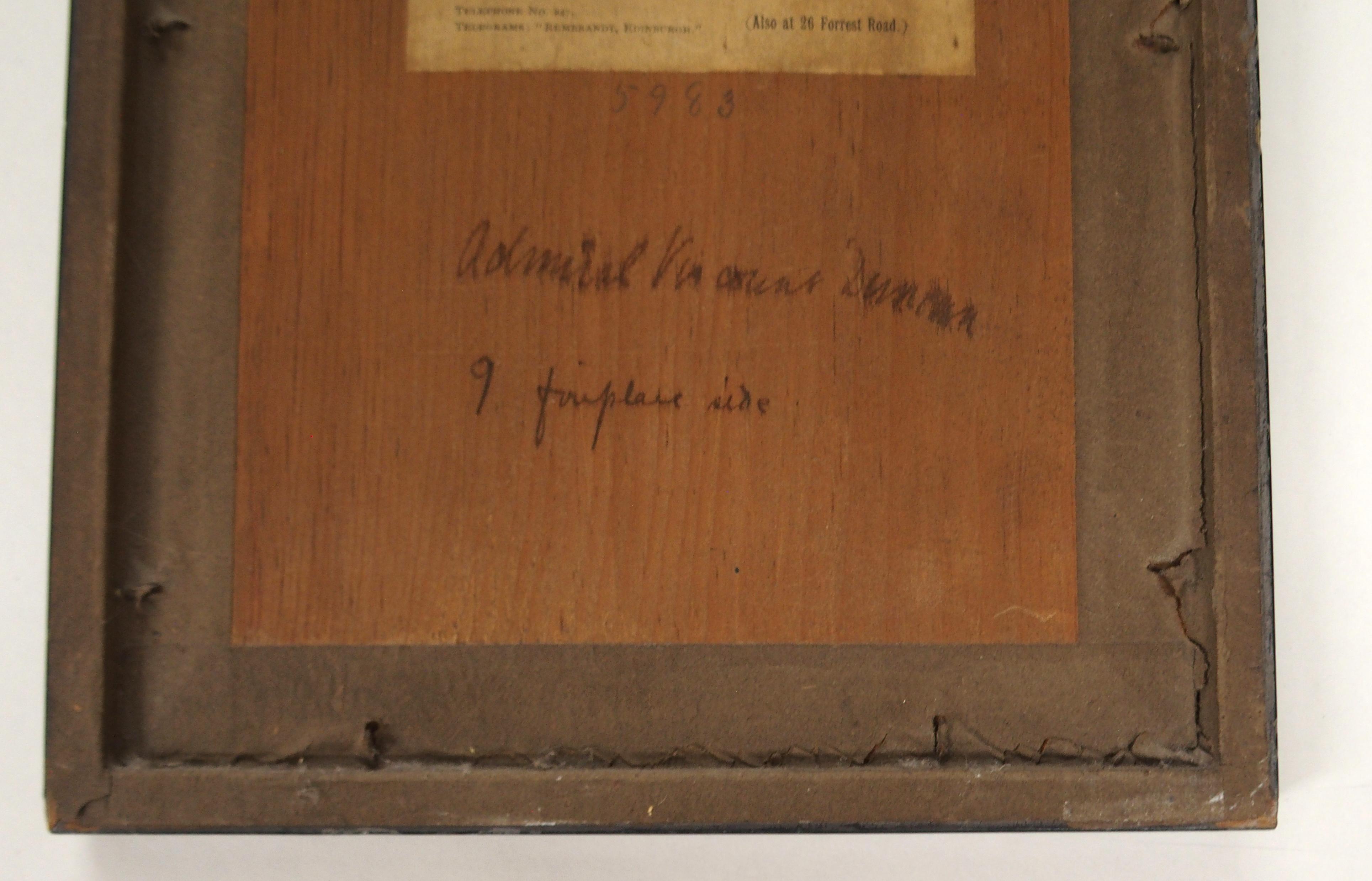 AFTER JOHN DUNCAN THE HEADLESS HORSEMAN engraving, 12 x 8cm, Admiral Viscount Duncan print, three - Image 11 of 12