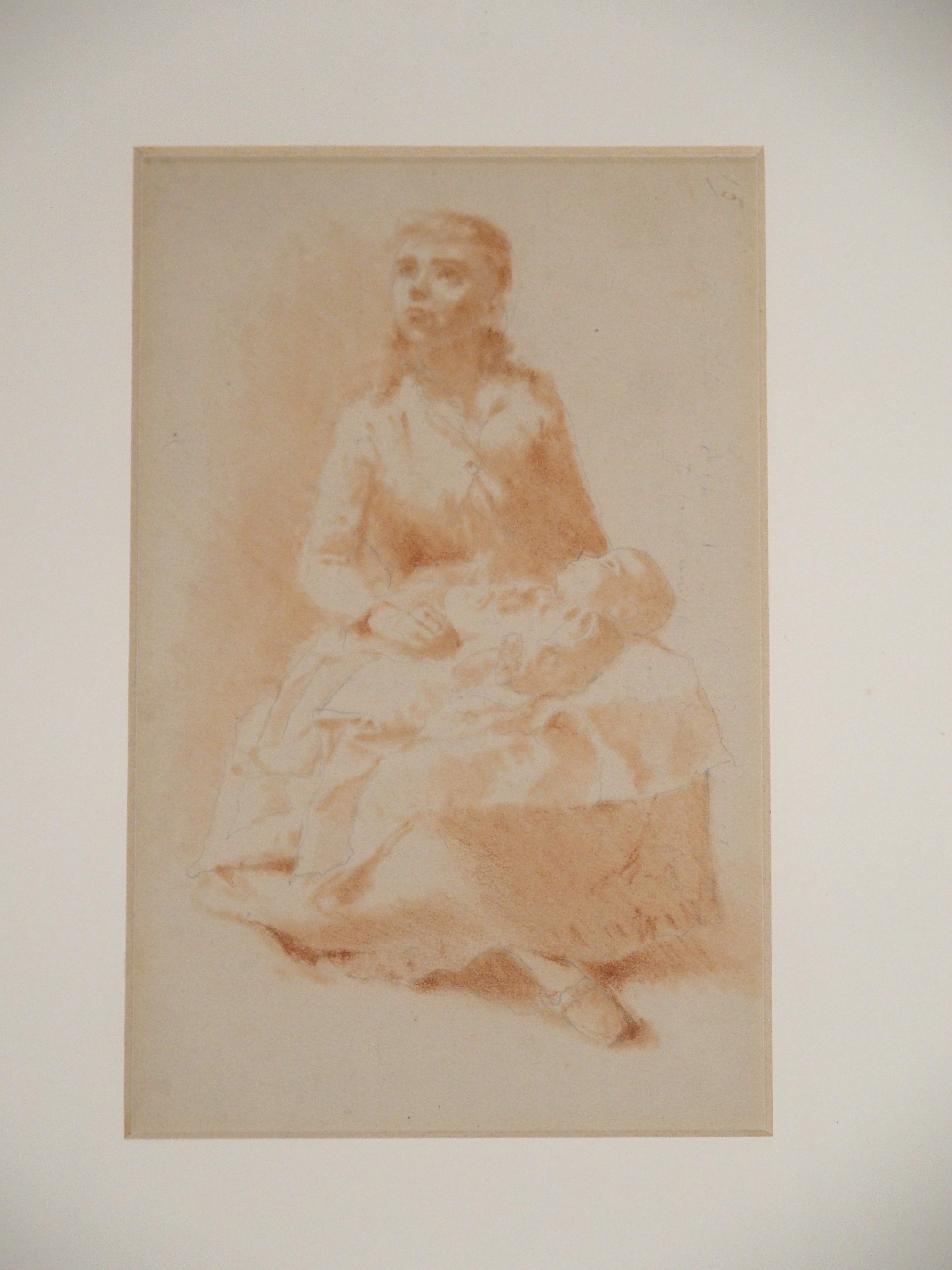 •A COLLECTION TO INCLUDE DRAWINGS, GREETINGS CARDS AND A BOOK ROBERT LEISHMAN 'Bob', inscribed, - Image 4 of 11