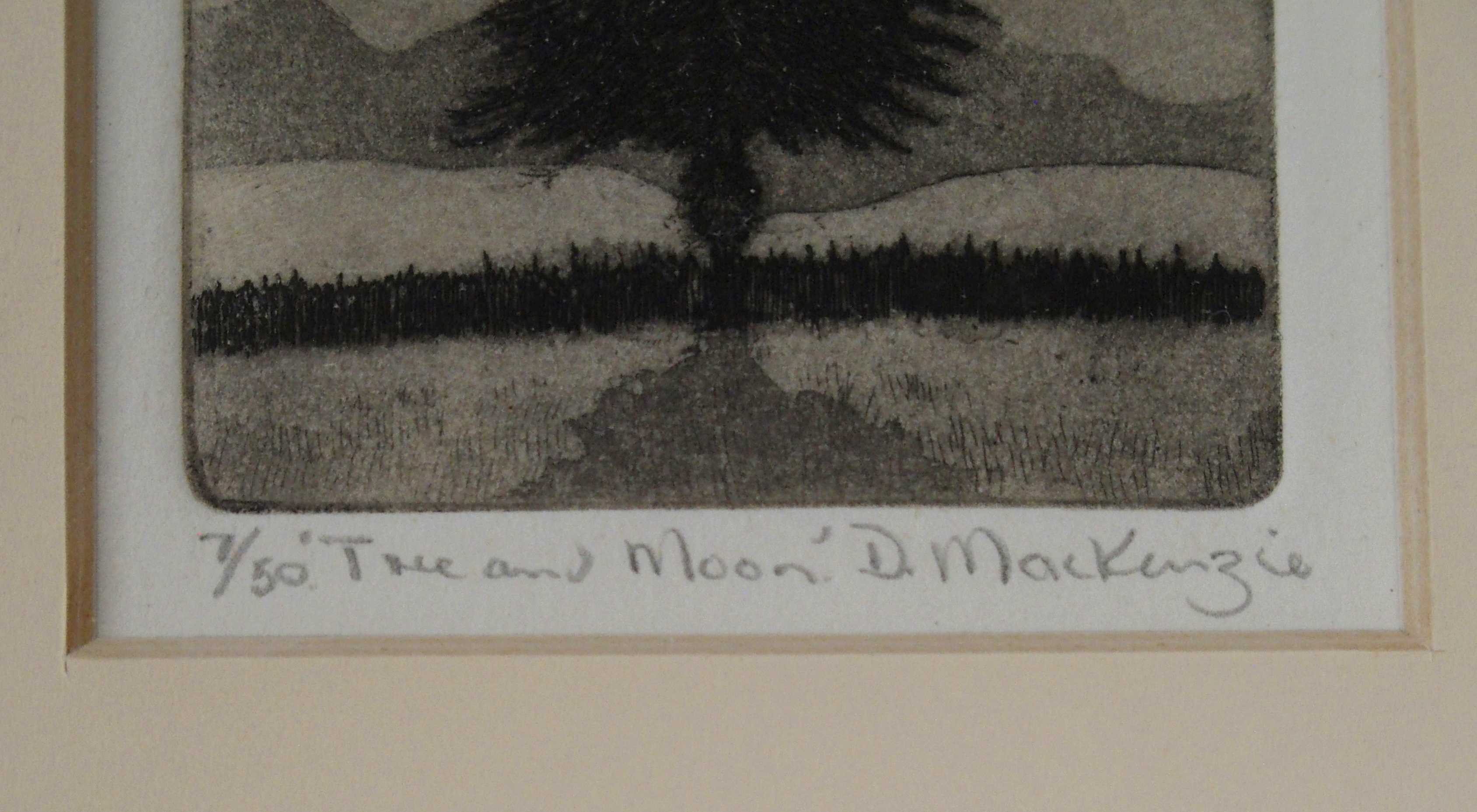 •DUNCAN MACKENZIE (SCOTTISH CONTEMPORARY) DANCING SCARECROWS etching, signed, inscribed and - Image 6 of 7