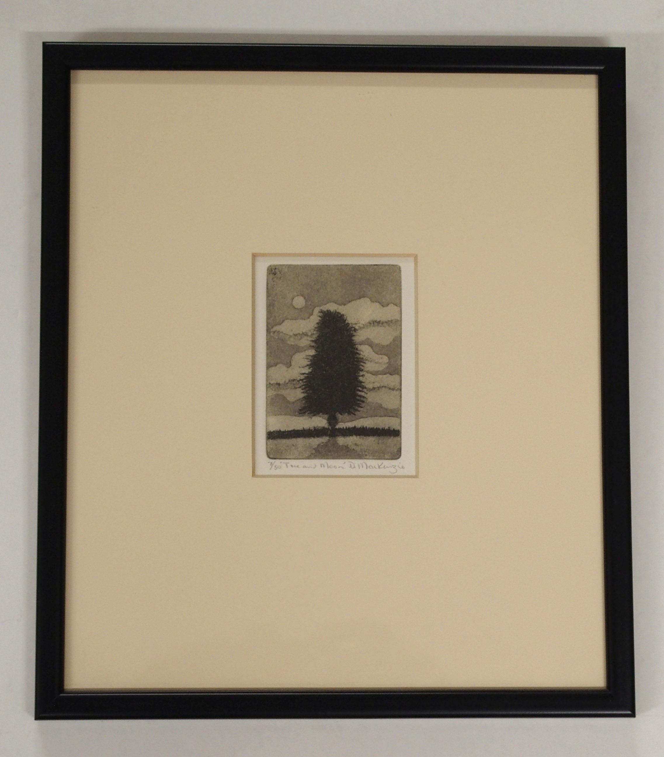 •DUNCAN MACKENZIE (SCOTTISH CONTEMPORARY) DANCING SCARECROWS etching, signed, inscribed and - Image 7 of 7