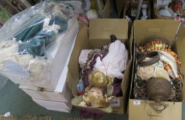 A lot of assorted bisque dolls Condition Report: Available upon request