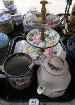 A lot comprising an early 19th century Baggerley & Ball oriental pattern mug, a Royal Doulton