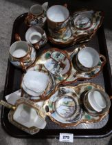 A lot comprising a Japanese eggshell teaset Condition Report: Not available for this lot