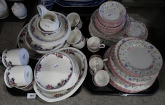 A lot comprising Royal Doulton Autumn's Glory pattern part dinner service & a Johnson Brothers