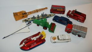 A collection of Dinky, Matchbox and other models (af) Condition Report: Available upon request