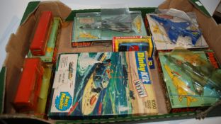 Three Dinky aircraft models, Dinky kit etc Condition Report: Available upon request
