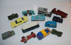 A collection of Dinky, Corgi and other models (af) Condition Report: Available upon request