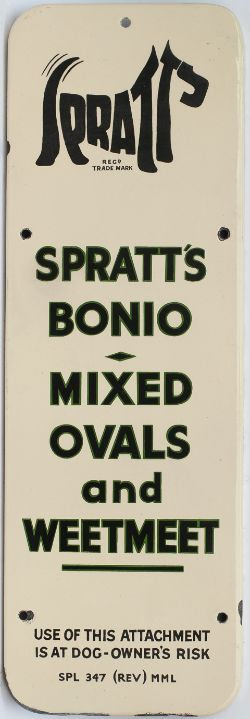 Spratt's Bonio Mixed Ovals