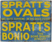 Spratts Ovals + Bonio