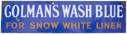 Colman's Wash Blue